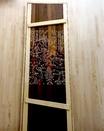 Дверь из липы массив, резная