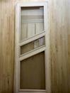 Дверь стеклянная жаростойкая