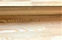 Мебельный щит из лиственницы 18 мм, класс Экстра