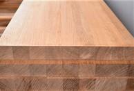 Мебельный щит из дуба 40 мм, класс Экстра (цельноламельный)