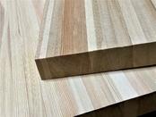 Мебельный щит из лиственницы 40 мм, класс Экстра (цельноламельный)