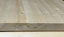 Мебельный щит из сосны 28 мм, класс А