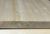 Мебельный щит из сосны 40 мм, класс А