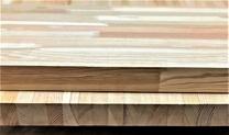 Мебельный щит из лиственницы 40 мм, класс Экстра